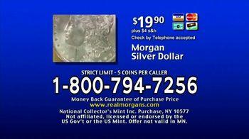 National Collector's Mint TV Spot, 'Morgan Silver Dollar: Bulletin' - Thumbnail 7