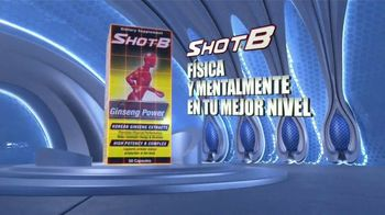 Shot B Ginseng Power TV Spot, 'Capacidad mental y física' [Spanish] - Thumbnail 9