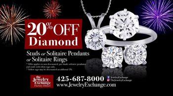 Jewelry Exchange New Year's Super Deals TV Spot, 'Studs & Solitaires'