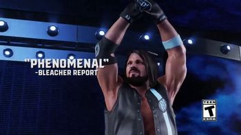 WWE 2K19 TV Spot, 'Accolades: Save 50%'