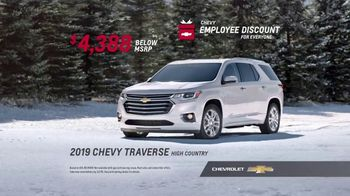 Chevrolet Employee Discount for Everyone Sales Event TV Spot, '2018 Holidays: Real Families' [T2] - Thumbnail 9