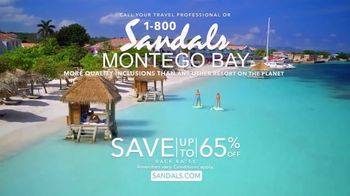 Sandals Resorts Montego Bay TV Spot, 'Mo Fun' - Thumbnail 10