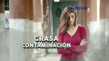 Asepxia Charcoal Purifying Effect TV Spot, 'Impurezas' [Spanish]