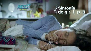 Next Nighttime Cold & Flu Relief TV Spot, 'Sinfonía de gripa' [Spanish]