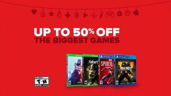 GameStop Game Days Sale TV Spot, 'Santa Freak Out: Gift Card and Games Offer' - Thumbnail 9