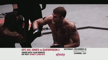 UFC 232 TV Spot, 'Jones vs. Gustafsson 2: Fire' Song by Willyecho - 12 commercial airings