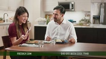 Freshly TV Spot, 'New Year's Resolution' - 47 commercial airings