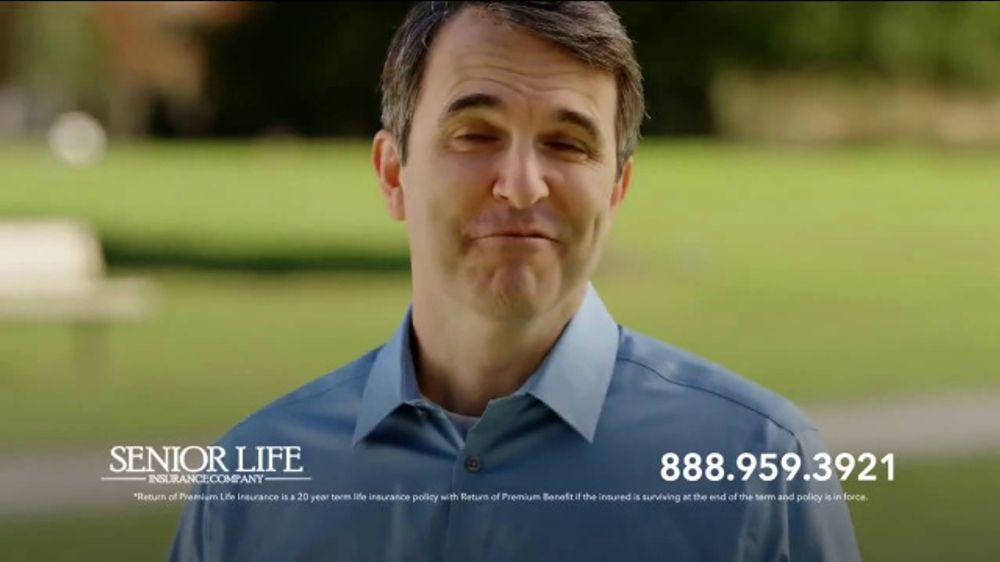 Senior Life Return of Premium Life Insurance TV Commercial ...