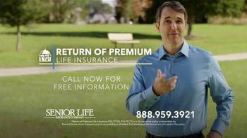 Senior Life Return of Premium Life Insurance TV Spot, 'We Give All Your Money Back' - Thumbnail 10