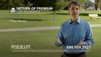 Senior Life Return of Premium Life Insurance TV Spot, 'We Give All Your Money Back' - Thumbnail 5