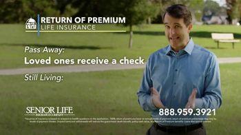 Senior Life Return of Premium Life Insurance TV Spot, 'We Give All Your Money Back' - Thumbnail 6
