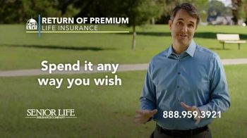 Senior Life Return of Premium Life Insurance TV Spot, 'We Give All Your Money Back' - Thumbnail 7