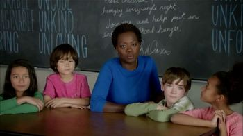 Hunger Is TV Spot, 'Hunger Is All of Us' Featuring Viola Davis - Thumbnail 4