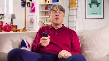 BritBox TV Spot, 'Make Yourself Comfortable' Featuring Alan Davies