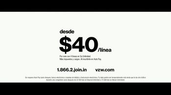 Verizon Unlimited TV Spot, 'Family Sunday: diferentes Unlimited' [Spanish] - Thumbnail 9