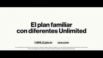 Verizon Unlimited TV Spot, 'Family Sunday: diferentes Unlimited' [Spanish] - Thumbnail 8