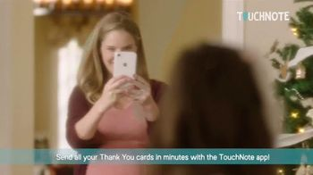 TouchNote TV Spot, 'Thank You Cards in Minutes'