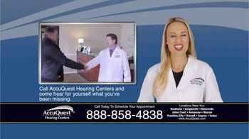 AccuQuest Hearing Centers TV Spot, 'Hearing Loss' - Thumbnail 3
