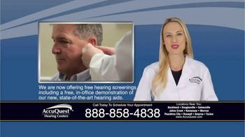 AccuQuest Hearing Centers TV Spot, 'Hearing Loss' - Thumbnail 4
