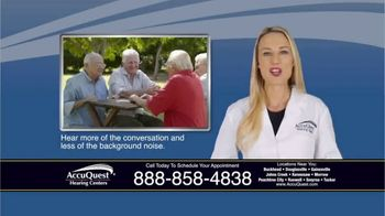 AccuQuest Hearing Centers TV Spot, 'Hearing Loss' - Thumbnail 6