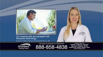 AccuQuest Hearing Centers TV Spot, 'Hearing Loss' - Thumbnail 7