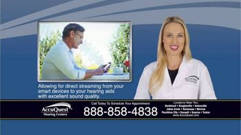 AccuQuest Hearing Centers TV Spot, 'Hearing Loss' - Thumbnail 8