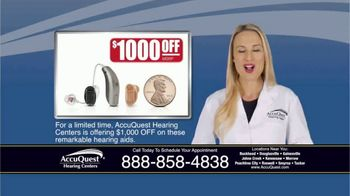 AccuQuest Hearing Centers TV Spot, 'Hearing Loss' - Thumbnail 9
