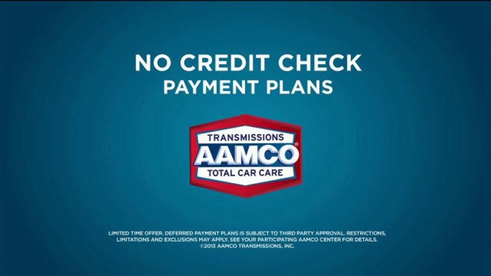 Aamco Transmissions Tv Commercial Sounds Like No Credit