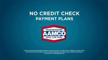 AAMCO Transmissions TV Spot, 'Sounds Like: No Credit Check' - Thumbnail 7