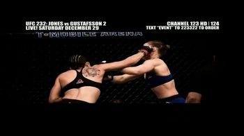 DIRECTV TV Spot, 'UFC 232: Jones vs. Gustafsson 2' - Thumbnail 7