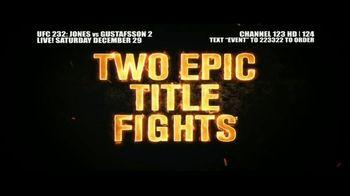 DIRECTV TV Spot, 'UFC 232: Jones vs. Gustafsson 2' - Thumbnail 9