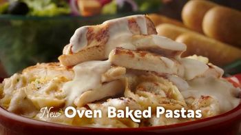 Olive Garden Oven Baked Pastas TV Spot, 'Post Holiday' - Thumbnail 4