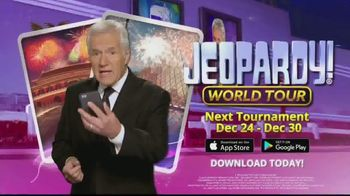 Jeopardy! World Tour TV Spot, 'Maybe You'll Learn Something' Featuring Alex Trebek