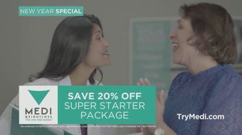Medi-Weightloss New Year New You Special TV Spot, 'Super Starter Package' - Thumbnail 9