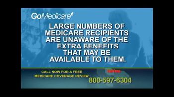 GoMedicare TV Spot, 'Medicare Benefits: Coverage Review' - Thumbnail 1