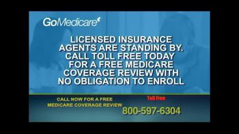 GoMedicare TV Spot, 'Medicare Benefits: Coverage Review' - Thumbnail 3