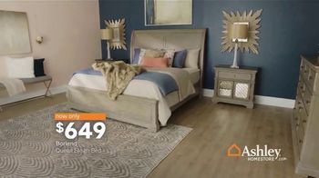 Ashley HomeStore New Year's Sale TV Spot, 'Sleigh Bed' - Thumbnail 5