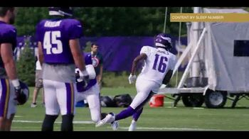 Sleep Number TV Spot, 'The Game of Your Life: On Top' Featuring Xavier Rhodes - Thumbnail 2