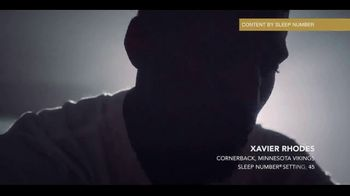 Sleep Number TV Spot, 'The Game of Your Life: On Top' Featuring Xavier Rhodes - Thumbnail 3