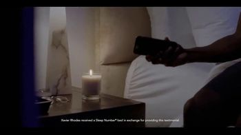 Sleep Number TV Spot, 'The Game of Your Life: On Top' Featuring Xavier Rhodes - Thumbnail 7