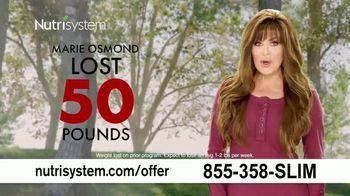 Nutrisystem FreshStart TV Spot, 'Healthy Lifestyle' Featuring Marie Osmond - 622 commercial airings