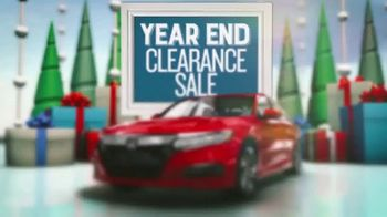 Honda Year End Clearance Sale TV Spot, 'All on Clearance' [T2] - Thumbnail 4