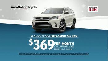 AutoNation Year End Event TV Spot, '2019 Toyota Highlander' - Thumbnail 5