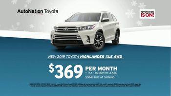 AutoNation Year End Event TV Spot, '2019 Toyota Highlander' - Thumbnail 6