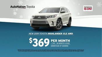 AutoNation Year End Event TV Spot, '2019 Toyota Highlander' - Thumbnail 7