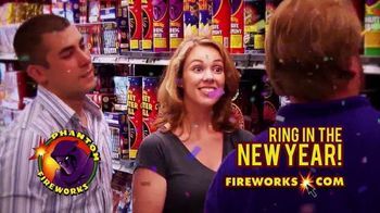 Phantom Fireworks TV Spot, 'Ring in the New Year' - Thumbnail 2
