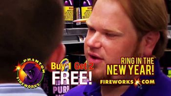 Phantom Fireworks TV Spot, 'Ring in the New Year' - Thumbnail 3