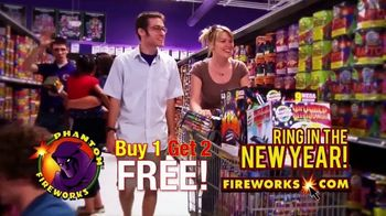Phantom Fireworks TV Spot, 'Ring in the New Year' - Thumbnail 4
