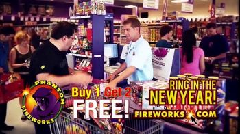 Phantom Fireworks TV Spot, 'Ring in the New Year' - Thumbnail 5