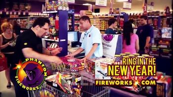 Phantom Fireworks TV Spot, 'Ring in the New Year' - Thumbnail 6